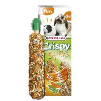 Крекери за зайци и морски свинчета с моркови и магданоз VERSELE LAGA STICKS RABBITS, GUINEA PIGS CARROT & PARSLEY, 2 бр.