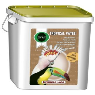 Versele Laga Orolux Tropical Patee Premium - мека храна за плодоядни птици, средни и големи папагали. 5 кг.