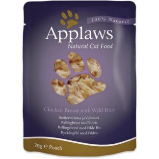 Пауч Applaws 70g с Пилешко филе и Див ориз