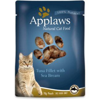 Applaws Tuna with Seabream in Broth - с риба тон и ципура 70 гр