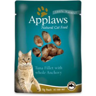 Applaws Tuna with Anchovy in Broth - с филе от риба тон и аншоа 70 гр