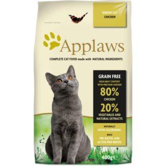 Applaws Senior Chicken - пълноценна храна с пилешко месо, за котки над 7 години 400 гр