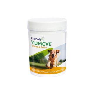Добавка за стави за активни кучета YUMOVE YOUNG&ACTIVE DOG, 240 таблетки