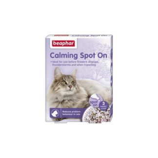 Beaphar – Calming Spot On – успокояващи пипети за котки, 3 бр