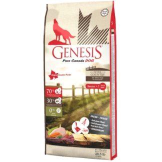 Суха храна GENESIS PURE CANADA WIDE COUNTRY SENIOR за кучета над 7 г. с гъска, фазан и патица, 11.79 g