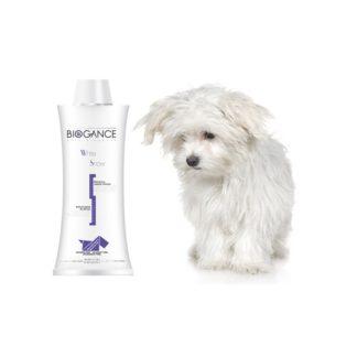 BIOGANCE White snow shampoo-250 ml.-за кучета с бяла козина