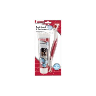 Комплект паста за зъби и четка BEAPHAR DENTAL KIT