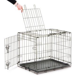 Метална клетка SAVIC DOG COTTAGE, 118 cm