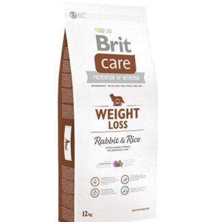 Суха храна BRIT CARE WEIGHT LOSS RABBIT & RICE за кучета над 12 м, контрол на теглото, заек и ориз