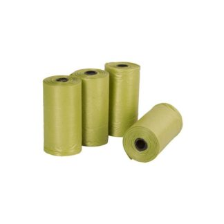 Kerbl Replacement Doodoo Pouch - Биоразградими пликчета 4 ролки х 20 бр