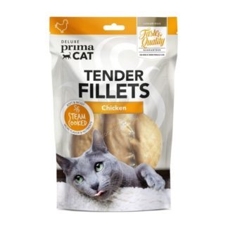 Prima Cat Deluxe Tender Chicken Fillets - деликатесно лакомство пилешки филенца