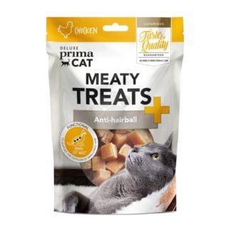 Prima Cat Deluxe Meaty Treats Anti-hairball