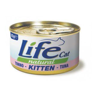 Life Natural Life Cat Kitten Tuna - с риба тон, за малки котенца, 85 гр.