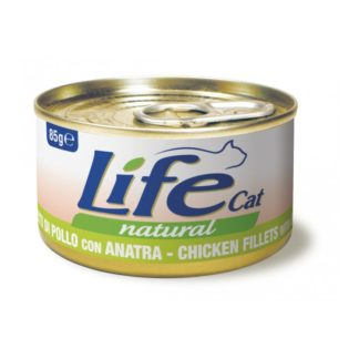 Life Natural Life Cat Chicken & Duck - с пилешко и патешко месо, 85 гр.