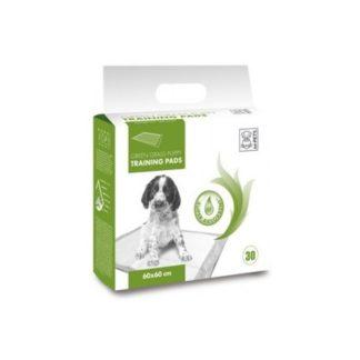 M-Pets Green Grass Puppy training pads - подложки с аромат на трева, 90 х 60 см
