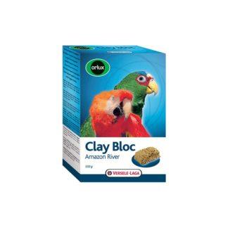 Глинен блок за средни и големи папагали VERSELE LAGA CLAY BLOC AMAZON RIVER, 550 g