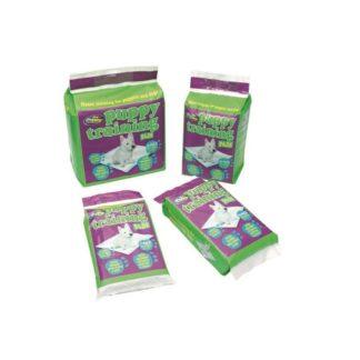 Pet Brands Dogs Puppy Training Pads - супер абсорбиращи памперси за постилане 60 х 60 см, 56 броя
