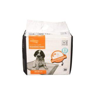 M-Pets Easy Fix Puppy Training Pads - подложки със залепващи се ленти 60 x 60 cm