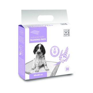 M-Pets Lavender Puppy Training Pads - подложки с аромат на лавандула 60 x 60 cm, 30 бр.