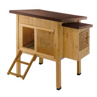 Дървена клетка за кокошки FERPLAST HEN HOUSE 10, 124х98х110 cm