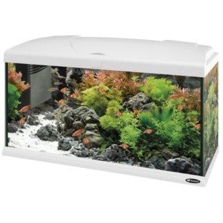 Оборудван аквариум Ferplast CAPRI 80 WHITE, 100 л.