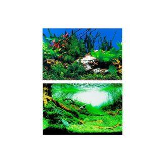 Фон за аквариум Ferplast BLU 9049, двулицев