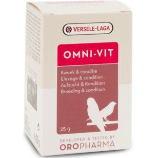 Комплекс от витамини за птици, аминокиселини и микроелементи за добра кондиция VERSELE LAGA OMNI-VIT, 25 g