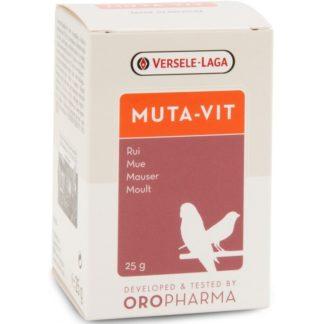 Комплекс от витамини за птици, аминокиселини и микроелементи за добро оперение на прах VERSELE LAGA MUTA-VIT, 25 g