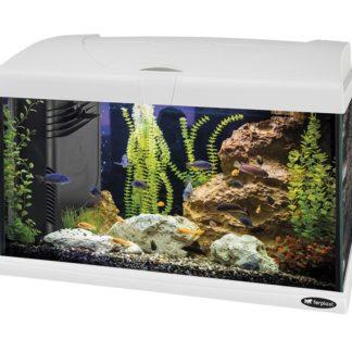 Оборудван аквариум Ferplast CAPRI 50 LED WHITE, 40 л