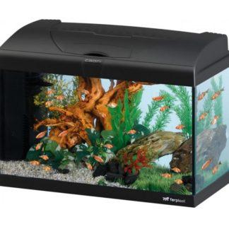 Оборудван аквариум Ferplast CAPRI 50 LED BLACK, 40 л