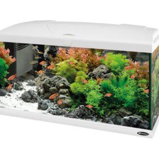 Оборудван аквариум Ferplast CAPRI 80 LED WHITE, 100 л