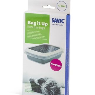 Тобрички за котешка тоалетна Savic M, 12 бр.