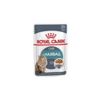 Пауч ROYAL CANIN HAIRBALL CARE GRAVY хапки в сос за космени топки, 85 g