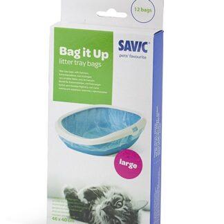 Тобрички за котешки тоалетни Savic Iriz L, Flappy, Gizmo L, 12 бр.