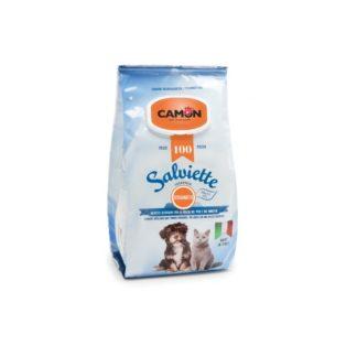 Мокри кърпички Camon Salviette аромат бергамот, 100 бр.