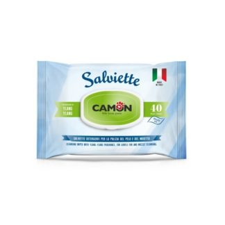 Мокри кърпички Camon Salviette аромат иланг-иланг, 40 бр.