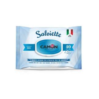 Мокри кърпички Camon Salviette аромат морски бриз, 40 бр.