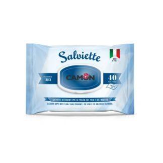 Мокри кърпички Camon Salviette аромат талк, 40 бр.