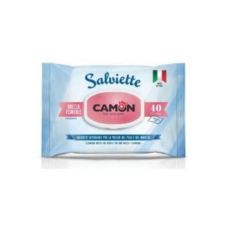 Мокри кърпички Camon Salviette аромат цветен бриз, 40 бр.