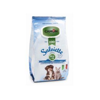Мокри кърпички Camon Salviette аромат мускус и алое, 100 бр.