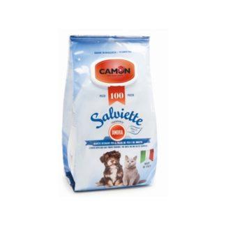 Мокри кърпички Camon Salviette аромат амбър, 100 бр.