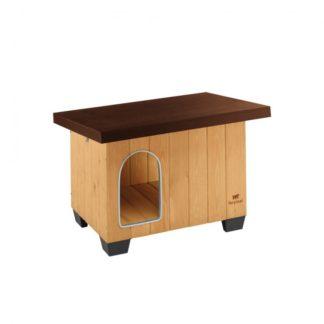 Дървена къща за куче Ferplast BAITA 60