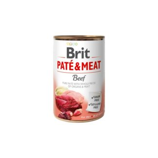 Brit Super Premium Boutiques Gourmandes Lamb - хапки в пастет с агнешко месо 400 гр.