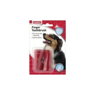 Четка за зъби напръстник BEAPHAR FINGER TOOTHBRUSH