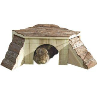 Дървена къща за гризачи KERBL