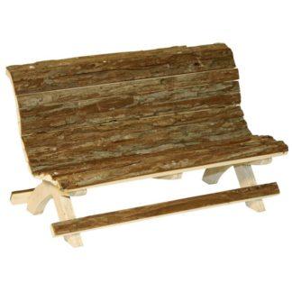 Дървена пейка KERBL WOODEN BENCH NATURE
