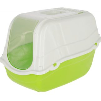 Закрита котешка тоалетна KERBL MINKA GREEN зелена