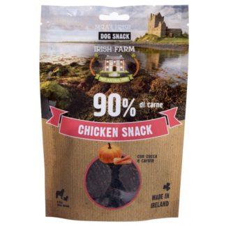 PET VILLAGE IRISH FARM CHIKEN SNACK дискове пиле с тиква и моркови, 80 g