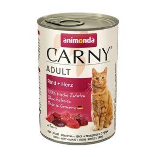 Консерва ANIMONDA CARNY ADULT BEEF AND HEART котки над 1 год, 400 g
