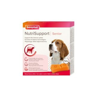 Добавка BEAPHAR NUTRISUPPORT SENIOR DOG за активни кучета, 12 бр